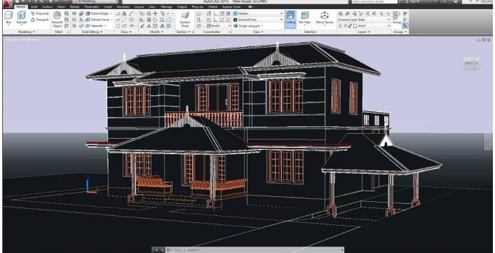 کاربرد اتوکد در معماری